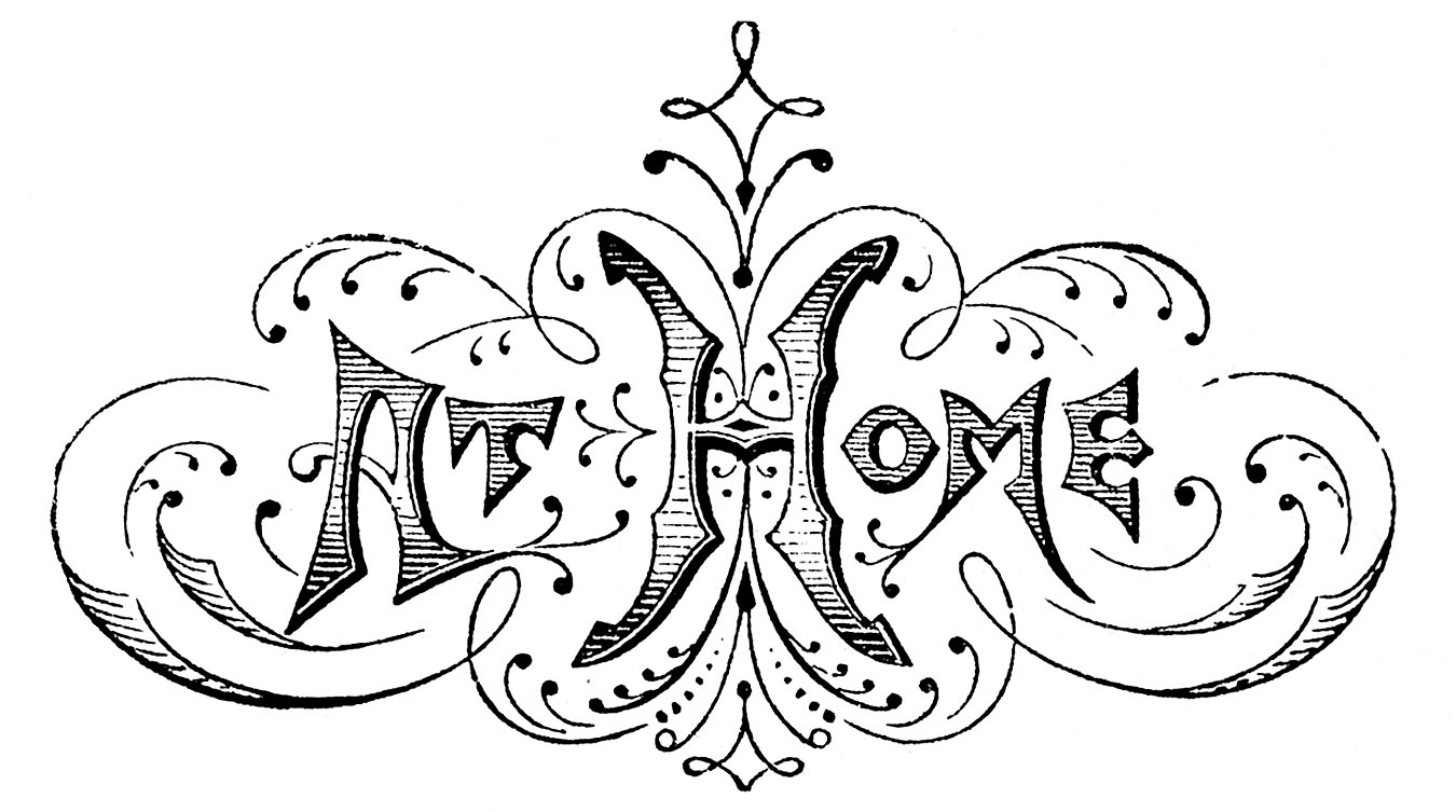 Typography clipart black and white Art Wedding Typography Typography –