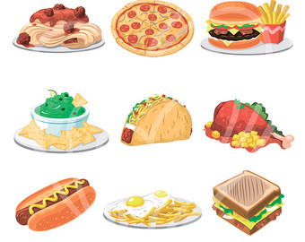 Breakfast clipart meal Yammy Instant Dinner Tasty art