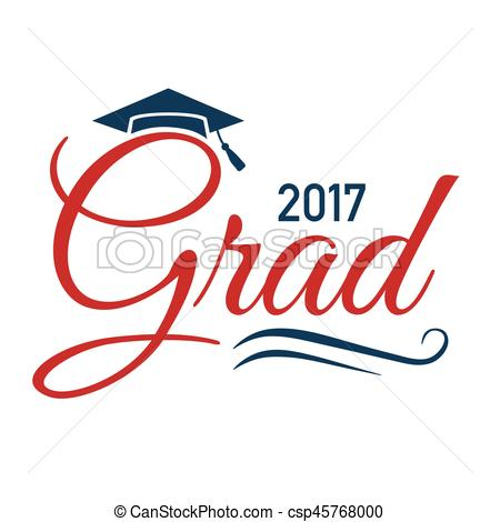 Typography clipart congrats 2017 of 2017 Typography Graduate