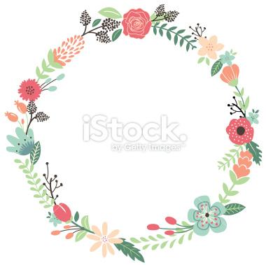 Art  Flower Vintage Stock