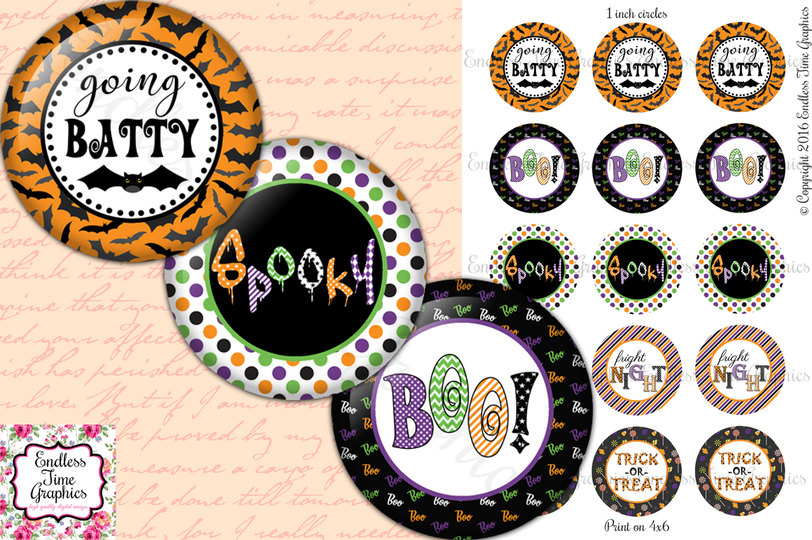 Typography clipart key Time and Inch Bow Halloween