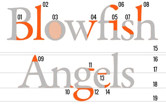 Typography clipart key 6 Key guide 3 typography