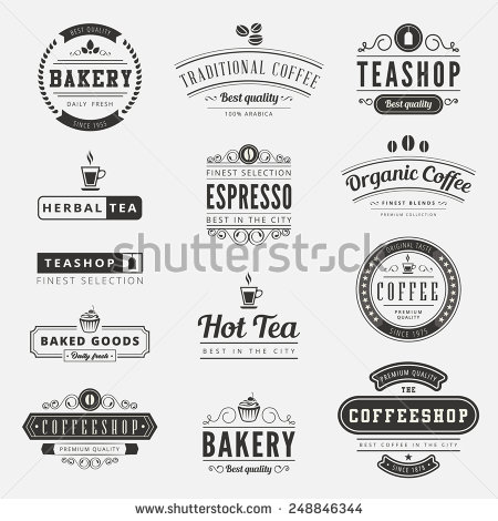 Typography clipart old style  Vintage Vintage typography Labels