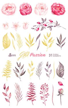 Drawn amd autumn Hand Gold Hand Floral Passion: