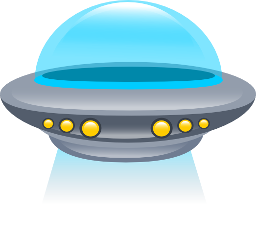 UFO clipart Flying Free Saucer Public Clip