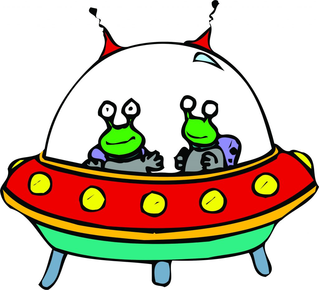 UFO clipart alien ship Saucer clipart Flying flying clipart