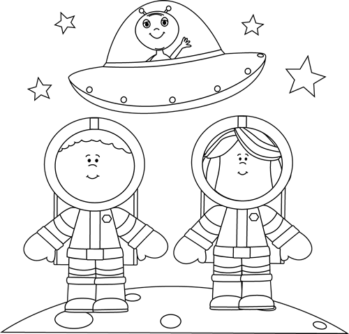 Moon clipart space #14