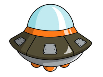 UFO clipart cartoon Ufo Ufo #11294 Clipart Cartoon
