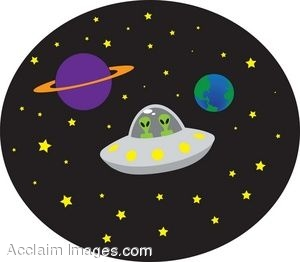UFO clipart cartoon Ufo Flying collection Of Aliens