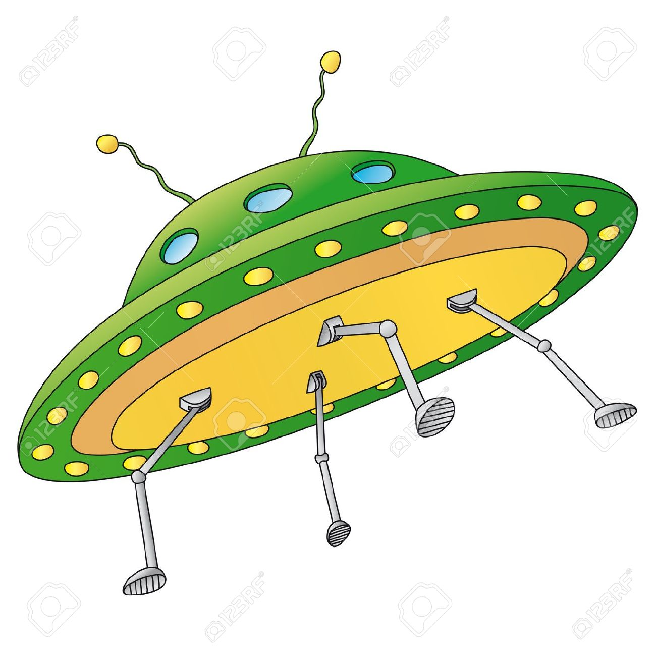 UFO clipart cartoon Collection ufo clipart Alien