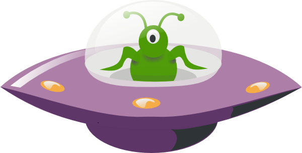 UFO clipart alien invasion Art Download  online Cartoon