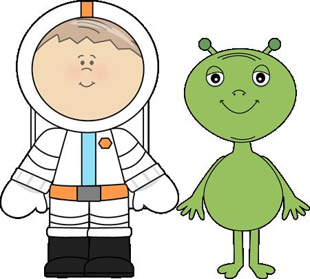 Alien clipart space man Kids Art Clip and Alien