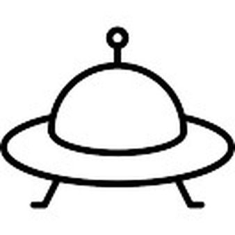UFO clipart outline Download UFO Ufo Free Icons