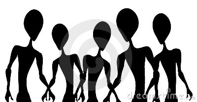 UFO clipart silhouette Clip Free Images invasion%20clipart Free