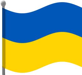 Ukraine clipart Art Waving Clip Flag Ukraine