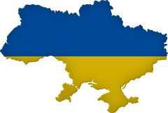 Ukraine clipart Clipart Flags Ukrainian map Animated