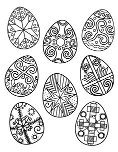 Ukraine clipart easter egg Egg Printable PDF  Easter