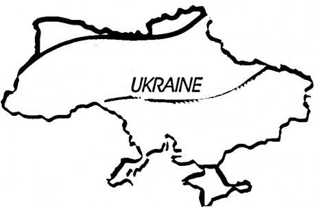 Ukraine clipart ukraine Map coloring Info Ukraine Clipart
