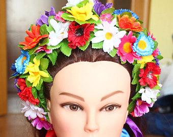 Ukraine clipart vinok Wreath Head women Wreath Vinok