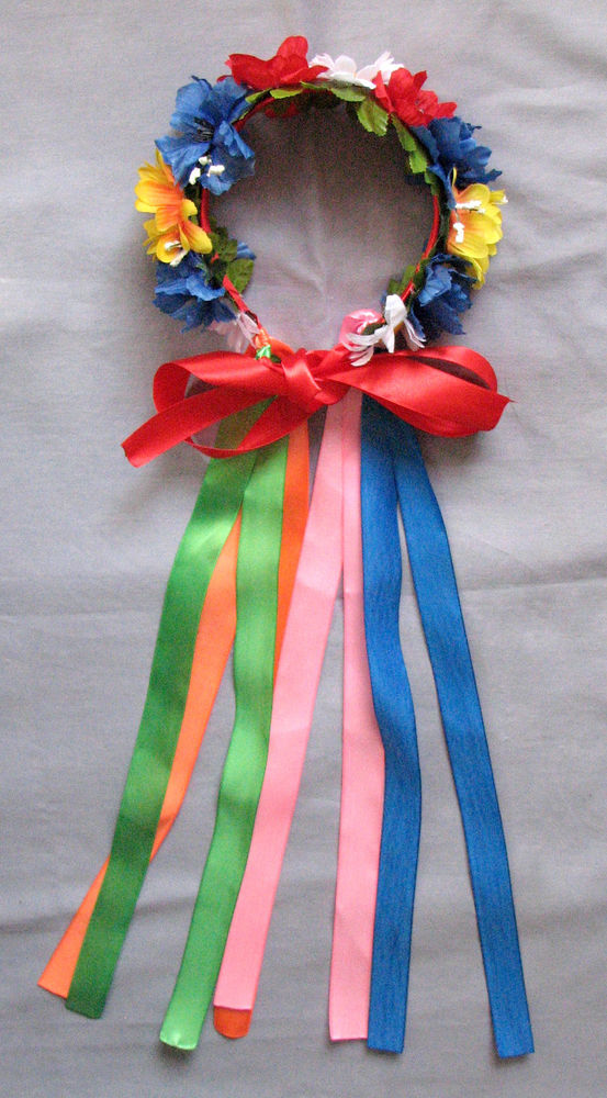 Ukraine clipart vinok Flower Girls Ribbons Wreath with