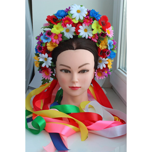 Ukraine clipart vinok Wreath Lush women Head Crown