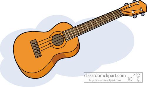 Ukulele clipart yellow : ukulele_instrument Hawaii : ukulele_instrument