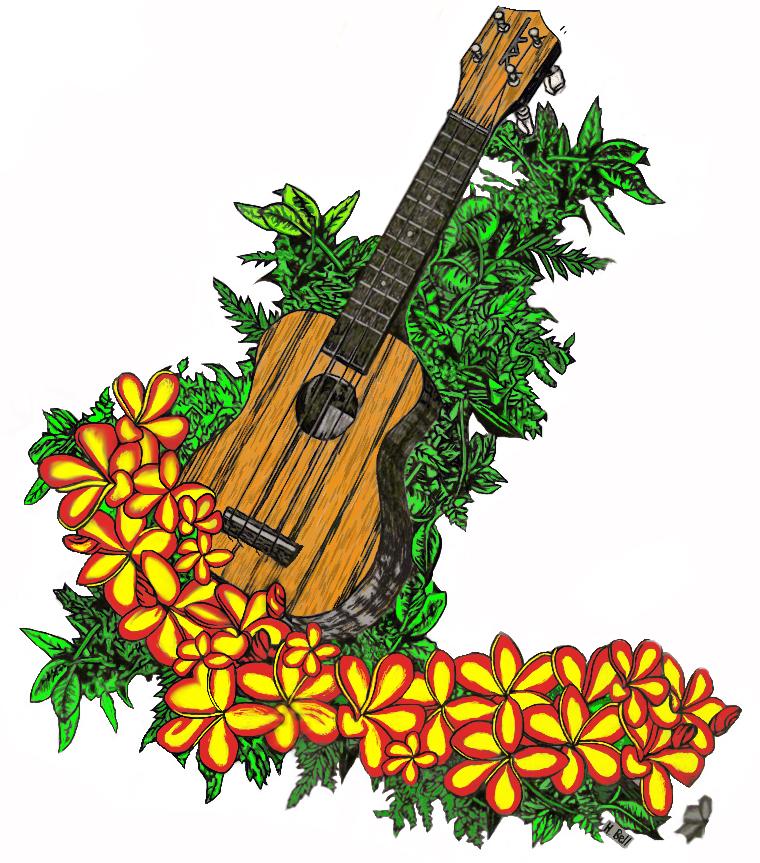 Ukulele clipart green Kaailau Bell uke and Ukuleles