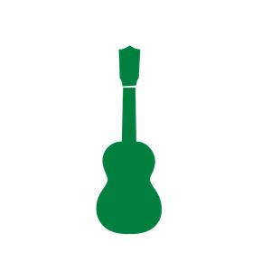 Ukulele clipart green Cliparts of Ukulele emf
