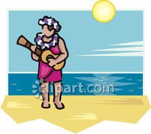 Ukulele clipart ukulele player Royalty Free Clipart Ukulele a