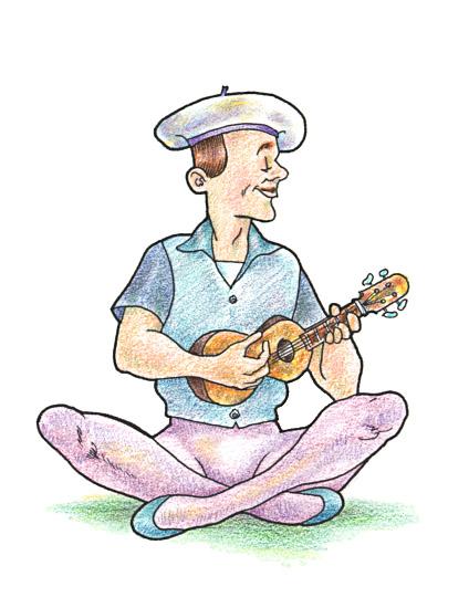Ukulele clipart ukulele player Art Library Cliparts Download Clip