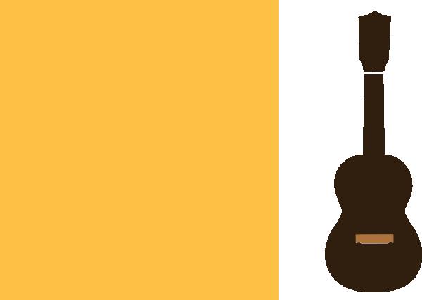 Ukulele clipart yellow Clip art vector Download image