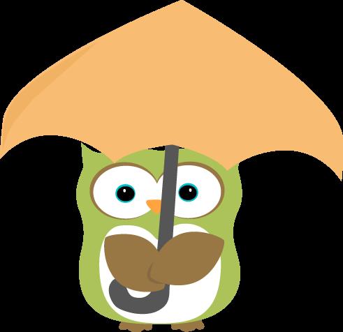 Umbrella clipart animal Owl umbrella Pinterest art under