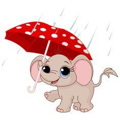 Umbrella clipart animal (4611×3798) 0_24060b_725a0f5e_orig Elephant Pinterest TIERNOS