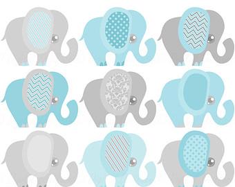 Umbrella clipart baby elephant Elephant Art Pink Clip Elephant