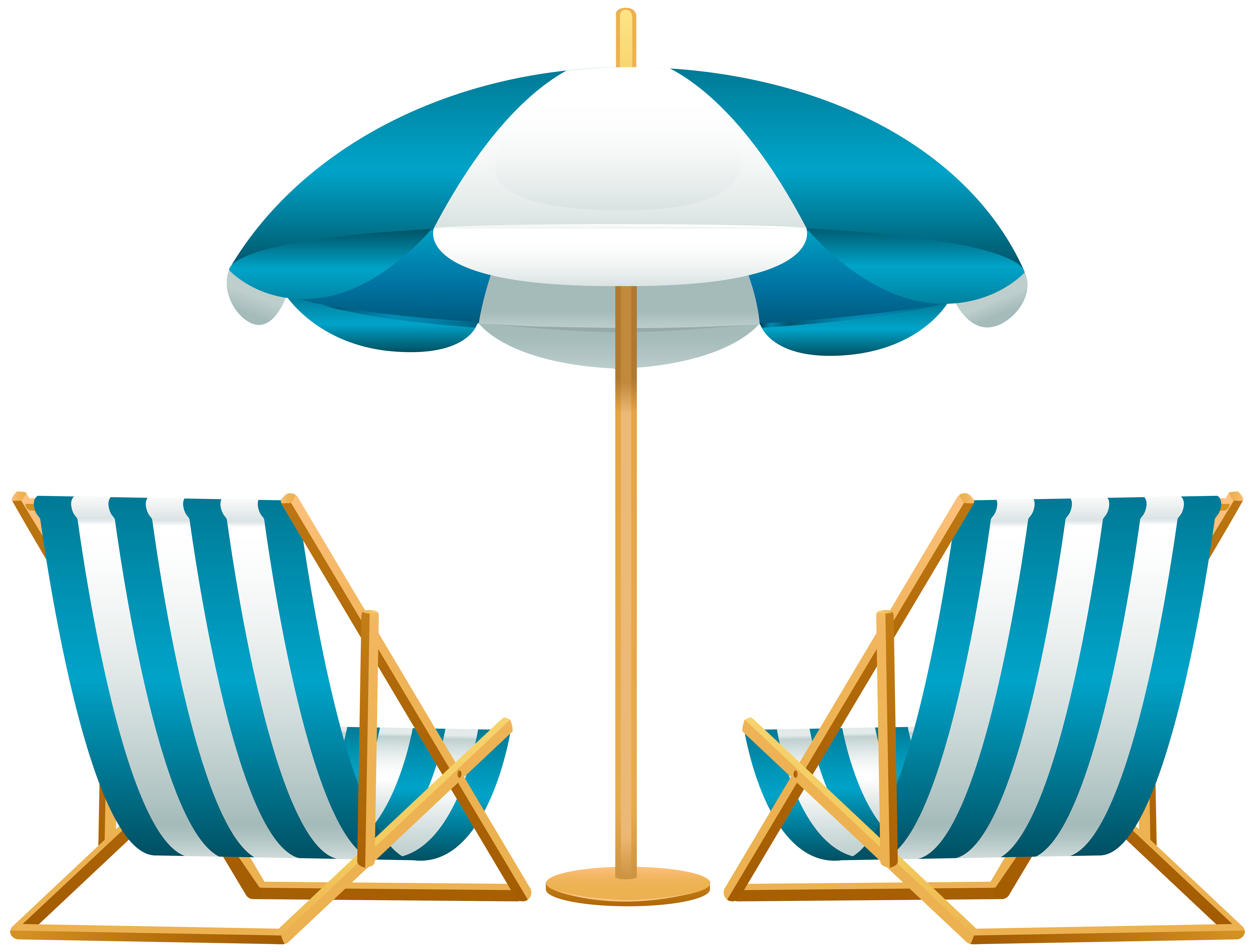 Vacation clipart beach umbrella PNG Art  Free Image