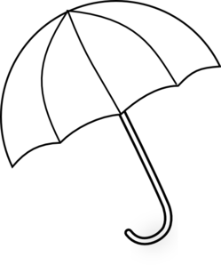 Covered clipart umbrella Clipart Black Clipart White And