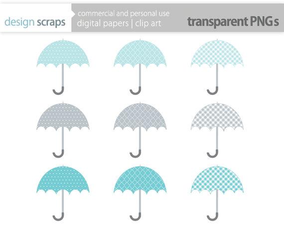 Umbrella clipart bridal shower umbrella Art by clip graphics $3
