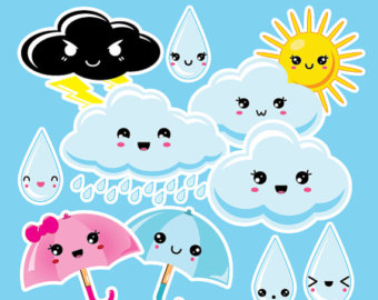 Clouds clipart spring OFF clipart OFF SALE digital