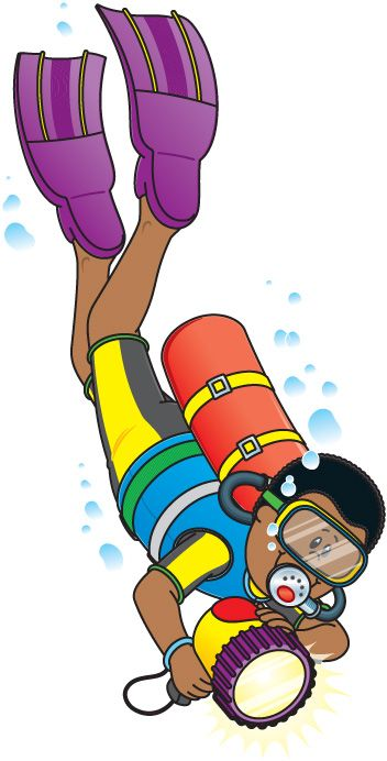 Diving clipart pearl diver On Clip 360 Art