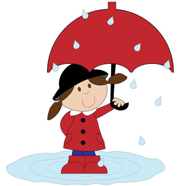 Umbrella clipart child Rain Umbrella Free Clipartix Pictures