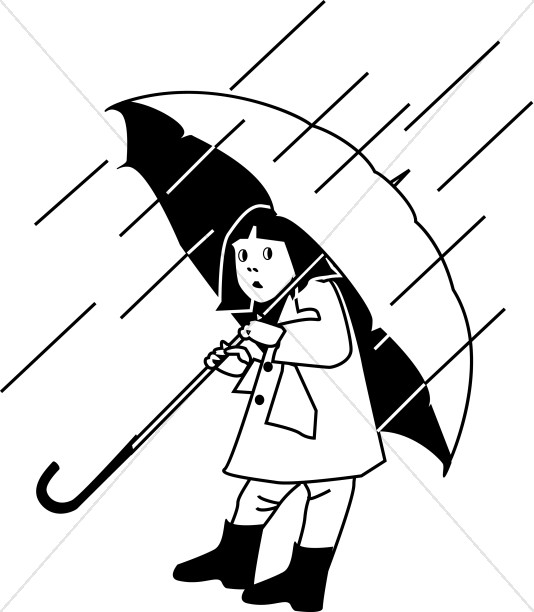 Umbrella clipart child With Child With Clipart Christian