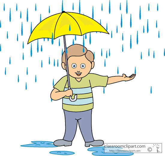 Umbrella clipart child In Boy umbrella Cliparting without