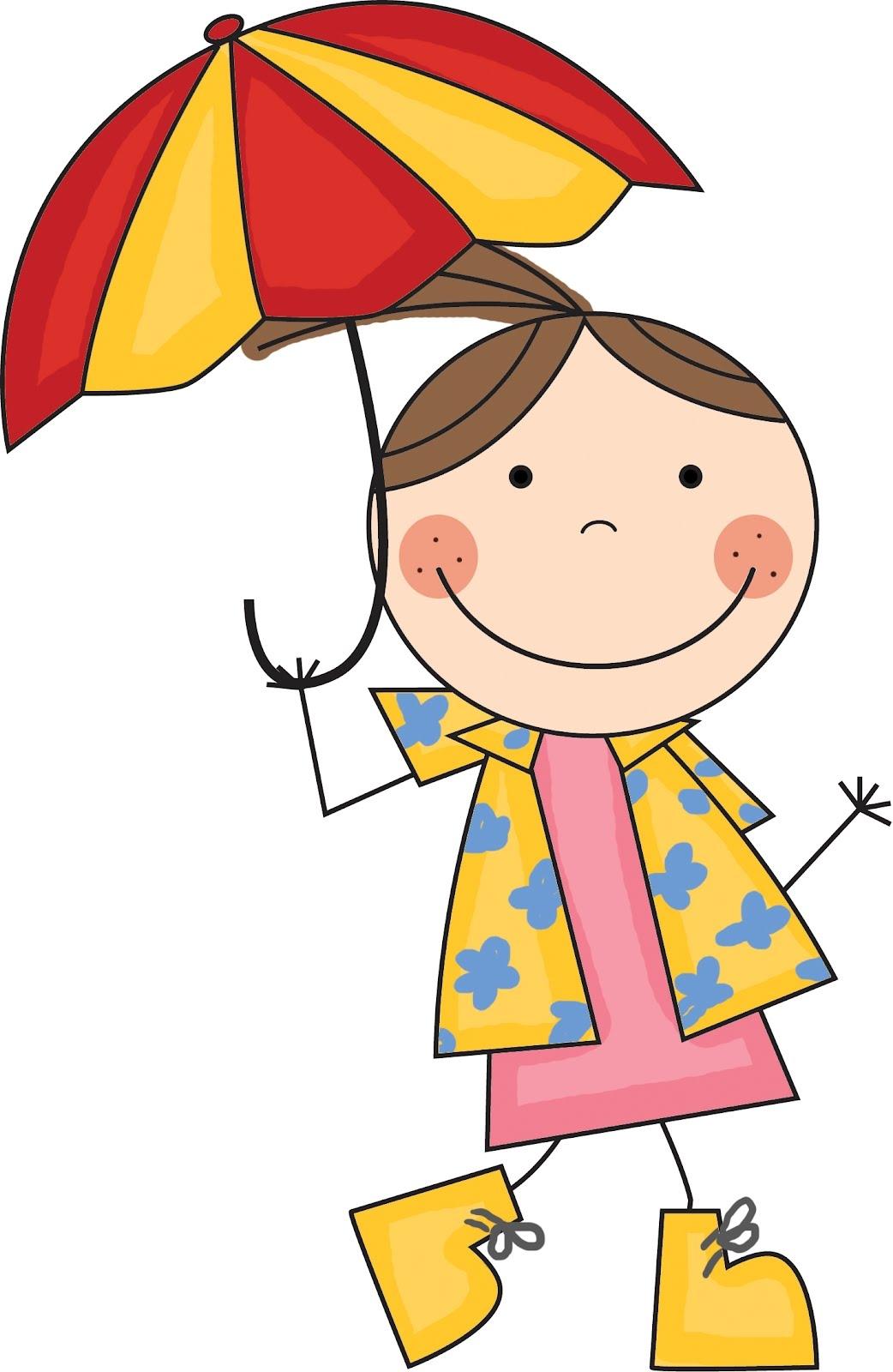 Umbrella clipart child With Kid Kid Clipart art