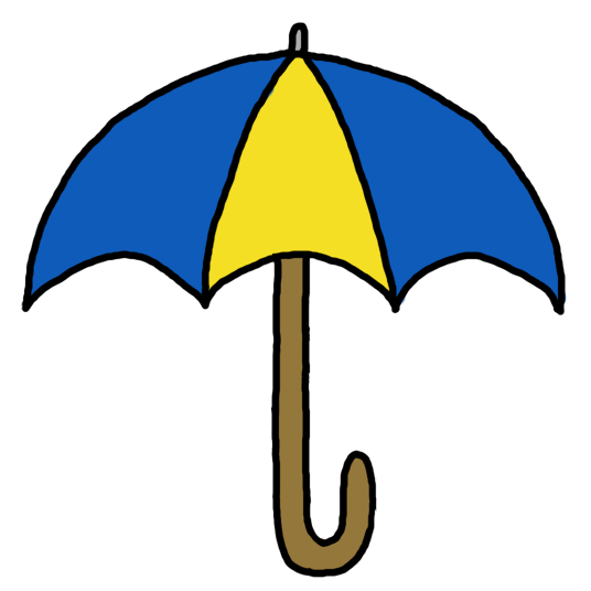 Covered clipart umbrella Umbrella free art Colourful free