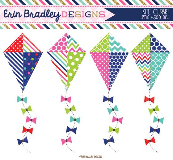 Pink clipart kite Clipart Bradley kites & schemes