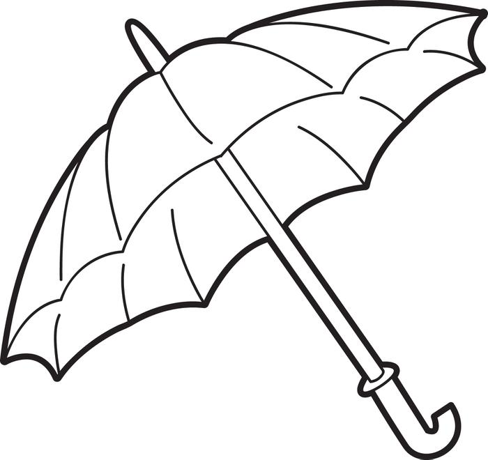 Drawn umbrella colouring picture Coloring Painting Page Patterns Coloring