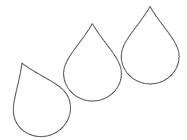 Water Droplets clipart colouring picture Coloring coloring coloring Download #19