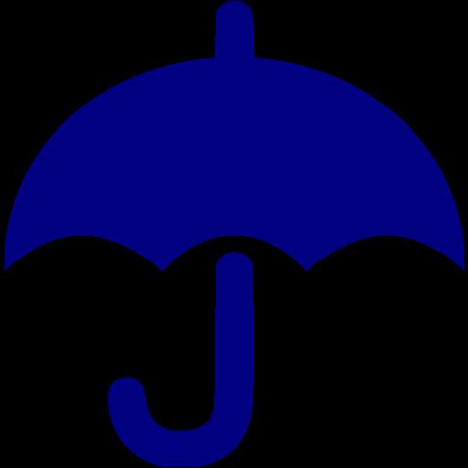 Navy clipart umbrella Blue blue Navy icon icon