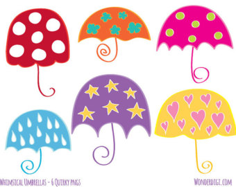 Chestnut clipart cute Umbrella Umbrellas Etsy Whimsical Clip