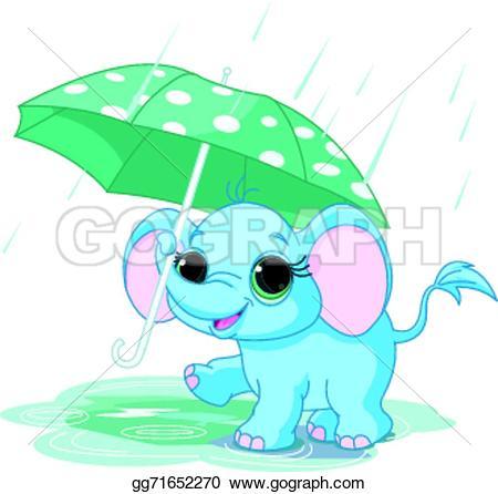 Umbrella clipart funny Gg71652270 Vector baby  Vector